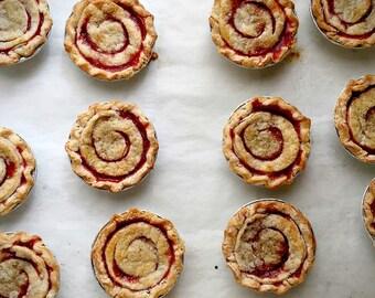 """3"""" Tiny Fruit Pie, 1 dozen, Pick Up or Local Delivery Irvine, CA"""