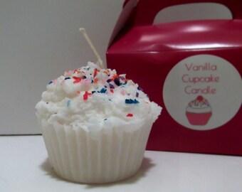 Vanilla Cupcake Candle