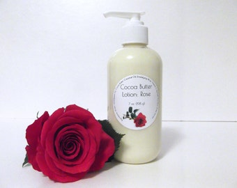 Rose Scented Cocoa Butter Lotion