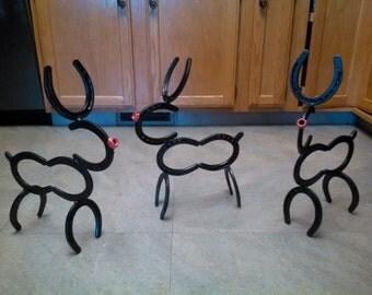 Horse shoe reindeer