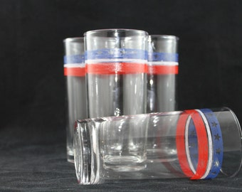 "set of 4 ""American"" Glasses"