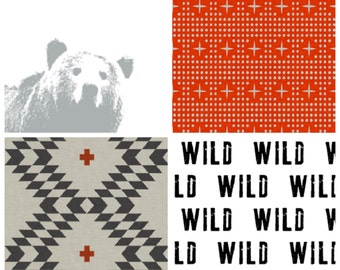 Custom Baby Crib Sheet // Bears, Oh My Collections // Baby Bedding