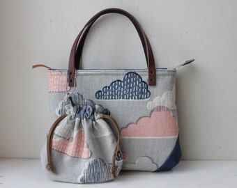 Small bag with small kinchaku(Onigiri-rice ball-)