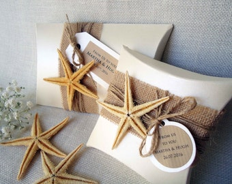 Gift Boxes Wedding Favor Boxes Beach Boxes Party Favor Boxes Pillow Boxes Large Pillow Boxes Ivory Boxes Burlap Pillow Boxes