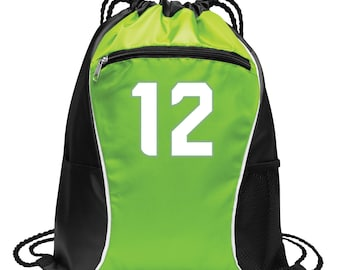 Hawks Number 12 Cinch Sack Pack