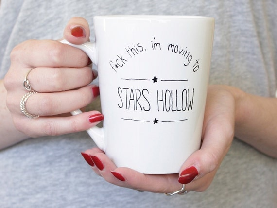 Moving to Stars Hollow Mug | Gilmore Girls Gift Guide