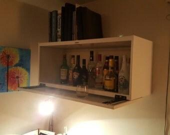 Awesome Bar Cabinet U Etsy With Mini Bar Cabinet.