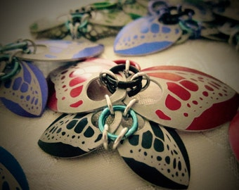 Scale Butterfly Pendants/Ornaments