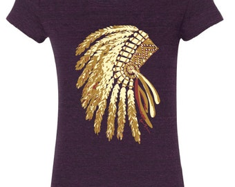 Headdress Tee - Original Artwork - FSU Seminoles