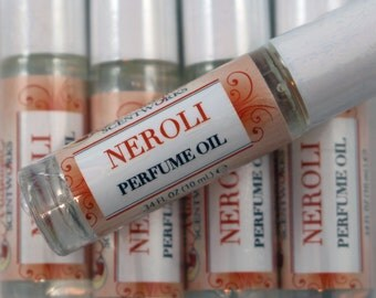 Neroli Perfume Oil - Neroli Roll On Perfume - Bitter Orange Natural Perfume - Fragrance Oil - Gift for Her - Alcohol-Free Perfume