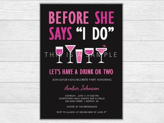 Bachelorette party invite, bachelorette party invitation, bachelorette invitation, printable invite, printable invitation, wedding invite