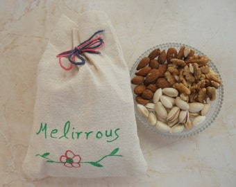 Mixed Fresh Raw Greek Nuts, All Natural  Fresh Nuts, Pistachio Aeginis,Walnuts,Almonds, Healthy Energy Snack!Gourmet Food ! 10.5oz (300gr)