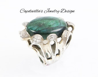 Sterling Silver Ring. ONE OF A KIND.