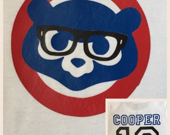 Cubs Personalized Onesies and Tshirts