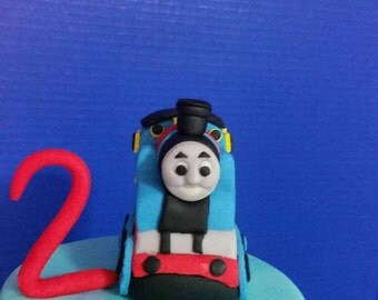Fondant Thomas the Train
