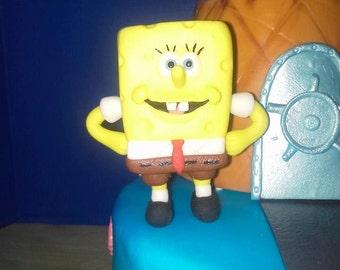 Fondant Spongebob