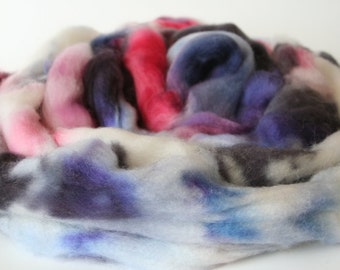 All the Pretty Jewels Hand Dyed Merino Tops (Roving) Braid