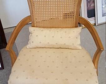 cane back vintage arm Chair