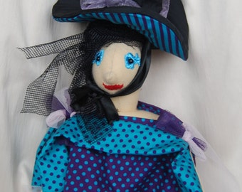 Design Witch with 2 in 1 hat