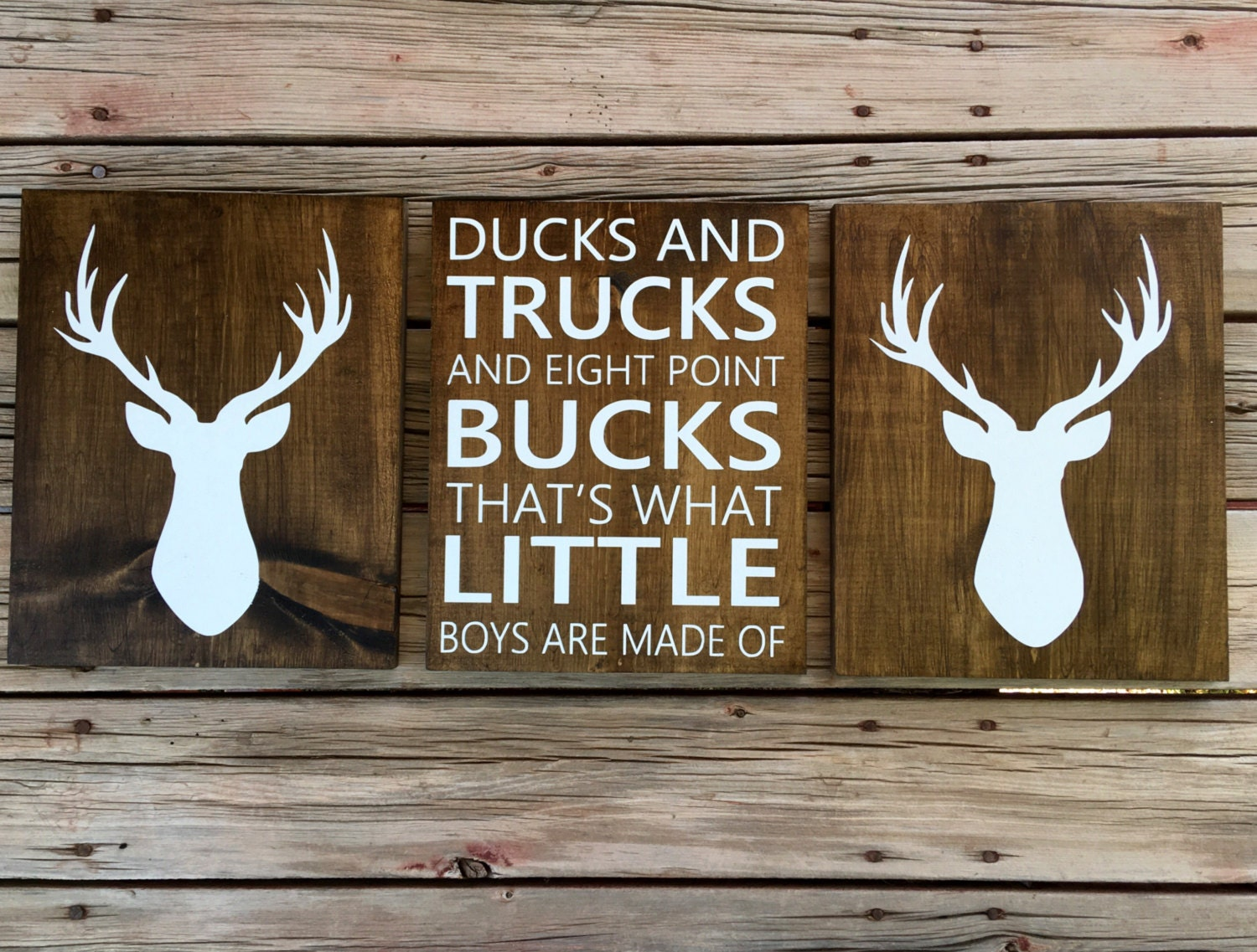 Ducks Trucks And Eight Point Bucks Thats What Little Boys Are