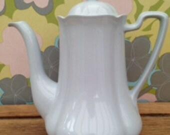 Beautiful Johnson Bros Greydawn Coffee Pot
