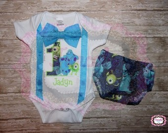 monsters first birthday outfit
