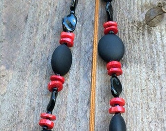 Red Rose Statement Necklace