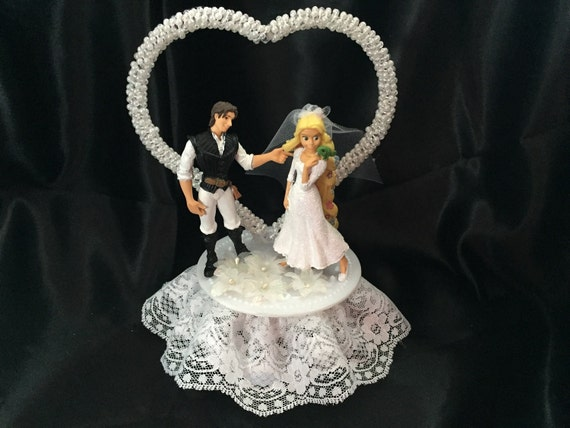 tangled wedding cake topper rapunzel tangled wedding cake topper by 1topper on etsy 20753