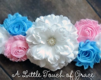 Gender Reveal, maternity sash, beautiful maternity sash. baby bump.maternity photos, boot or bow gender revealphoto prop ,baby shower