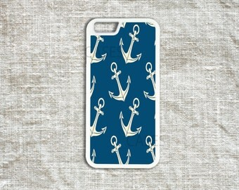 iPhone 6 6s Cases , iPhone 6 6s Plus Cover , iPhone 5 5s 5c 4 4s Cases - Anchors Pattern Iphone Cover