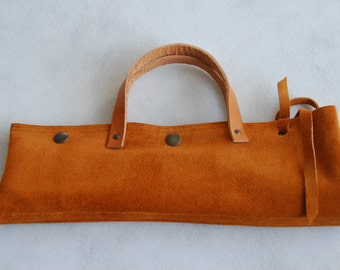 LEATHER Knife Bag for Chefs/Cooks