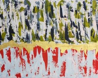 "ORIGINAL ABSTRACT ART ""Shine""  / Painting"