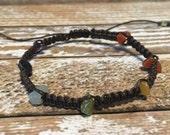 Chakra Healing Bracelet / Raw Crystal Bracelet / Healing Crystal Jewelry / Chakra Bracelet / Chakra Jewelry / Chakra / Balance