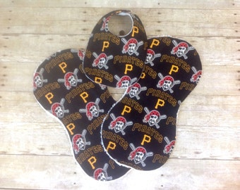 Pittsburgh Pirates Bib and Burp Cloth Set