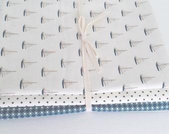 Fat quarter Bundle Offshore Deena Rutter for Riley Blake Designs-3 Fabrics