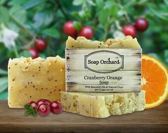 Cranberry Orange Soap Bar