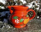 Waechtersbach pitcher red with apple