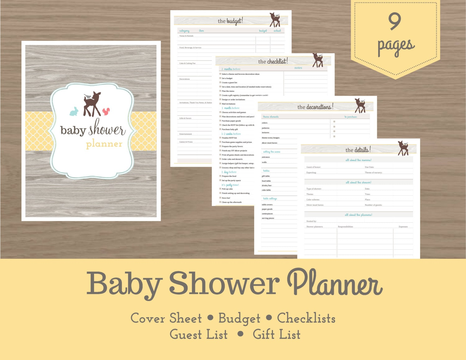baby shower planner baby shower checklist pregnancy