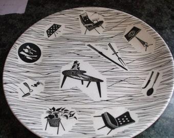 """Ridgways """"Homemaker"""" plate"""