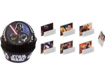 Star Wars Episode 7 Rings with Star Wars Baking Cups