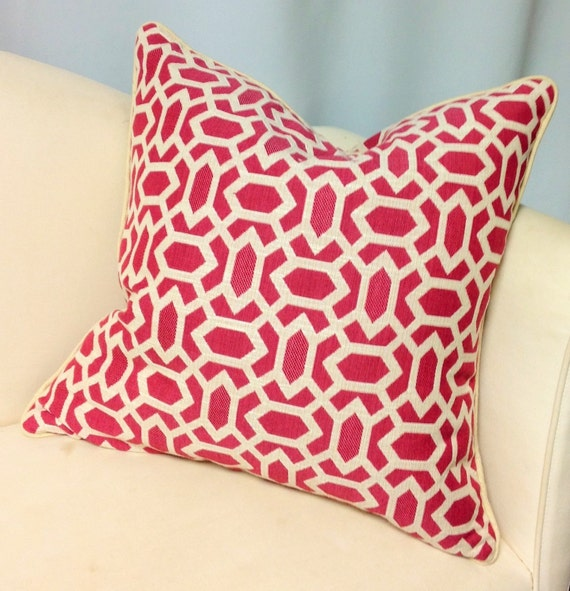 Throw Pillow Invisible Zipper : Decorative Pillow WITH Cording Invisible Zipper Down