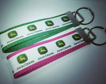 John Deere keychain
