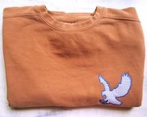 Eagle comfort colors sweatshirt, Gameday sweatshirt