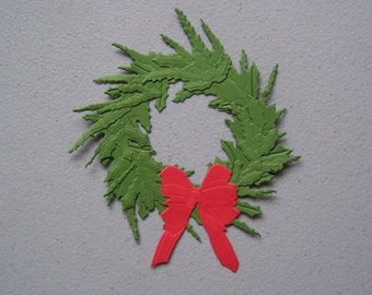 Wreath die cut
