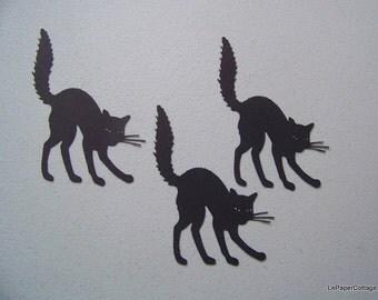 Black cat die cuts