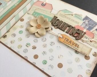 Scrapbook Page Kit titled 'Journey'