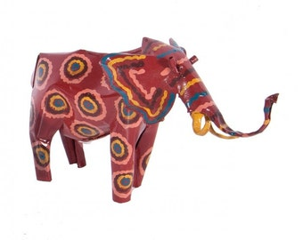 Rismoore Falls Hand Painted Elephant