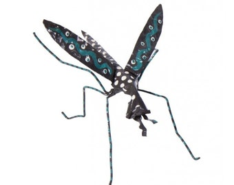 Alakie Hand Painted Mosquito Decoration