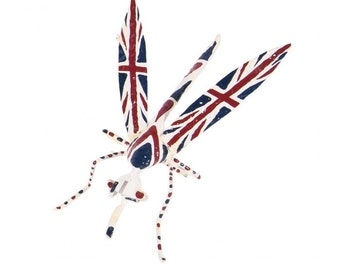 Union Jack Insect Mosquito
