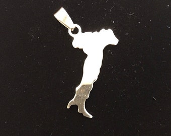 Pendant Italy with possibility of custom engraving